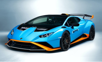 "The new ""Lamborghini Huracán"" STO 2021"