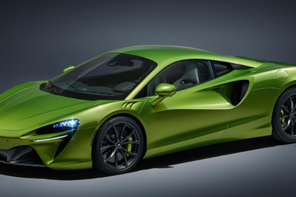 All-new McLaren Artura 2021, an extremely economical hybrid supercar